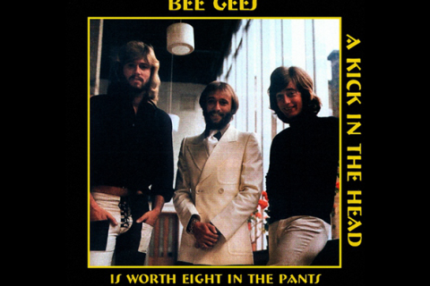 De Bee Gees – A kick in the head is worth eight in the pants